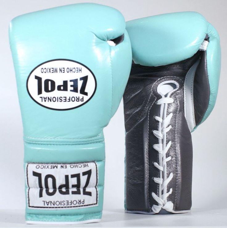 ZEPOL Pro Boxing Mexican Leather Training/Sparring Boxing Gloves - Sea Green #ZepolProfessional