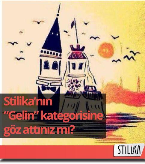 #Gelin adayları için pratik öneriler, gelinlikler, iç çamaşırları ve düğün konseptleri Stilika'da.. http://stilika.com/category/gelin/