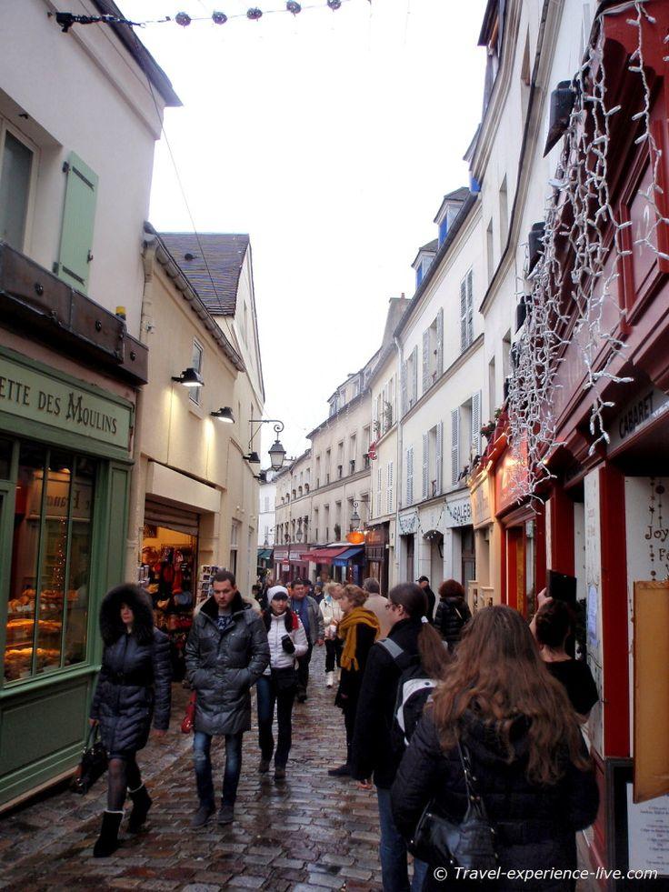 Streets of Montmartre.