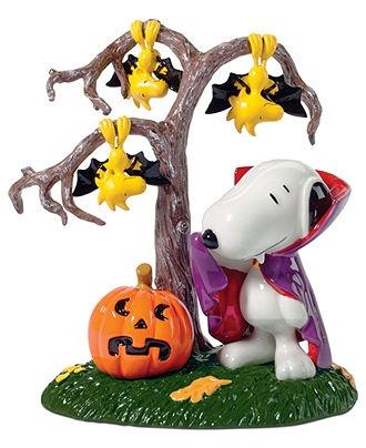 Peanuts Halloween Vampire Snoopy #decorations #figurine #macys BUY NOW!