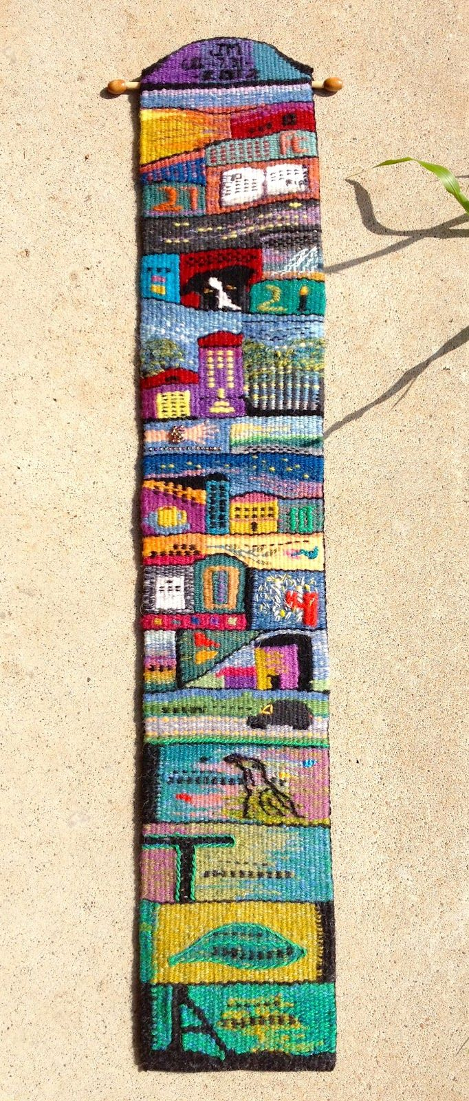 J Meetze Studio/Common Threads: July Tapestry Diary is Finished!