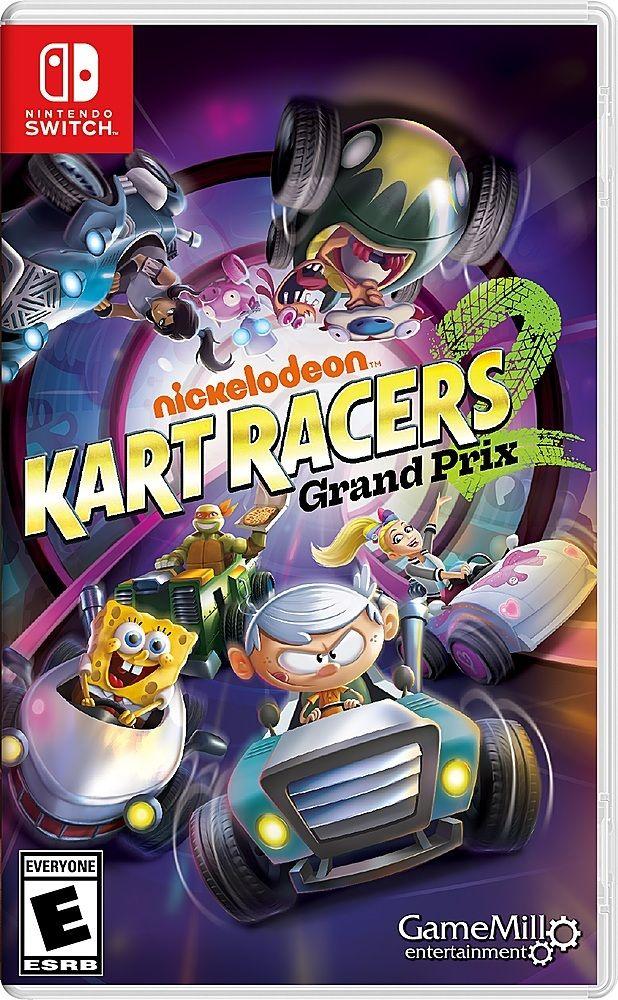 Nickelodeon Kart Racers 2 Grand Prix Nintendo Switch Nkr2812 Best Buy Nickelodeon Nintendo Switch Nintendo Switch Games