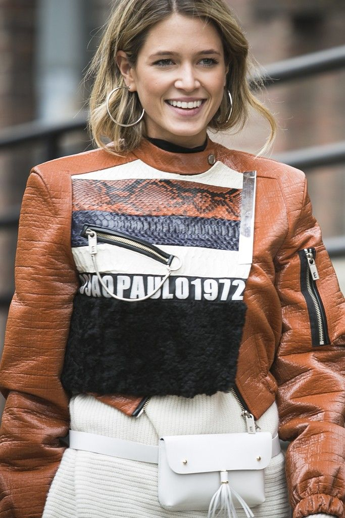 New York Fashion Week street style. [Photo by Ryan Kibler] <3