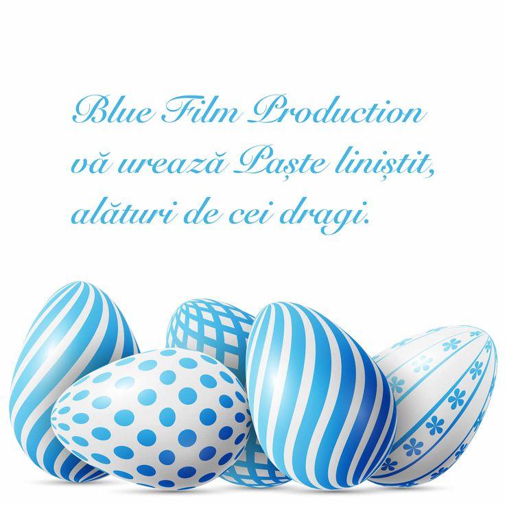 Blue Film Production vă urează un Paște liniștit și fericit, alături de cei dragi.