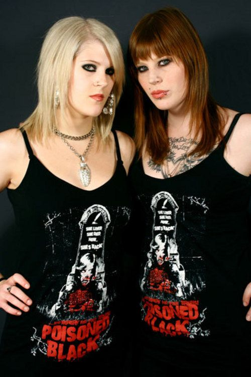 Morgan And Mercedes Lander Sisters In Metal Sisters