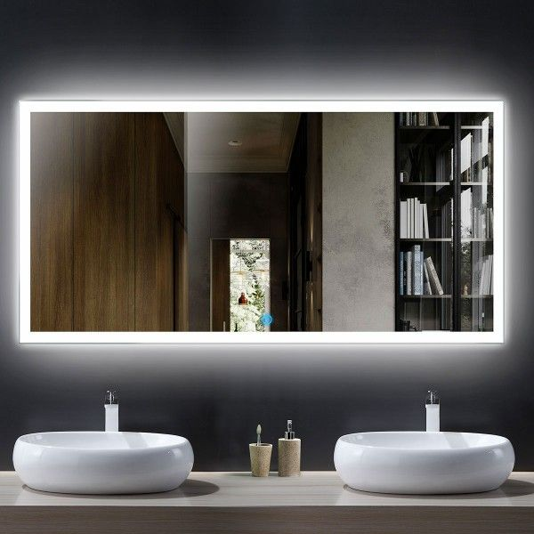Led Mirror Lighted Mirror Mirrors With Light Vanity Mirror Makeup
