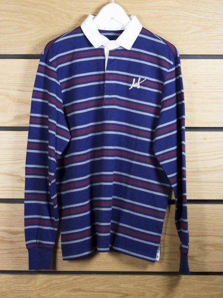 HUF HUF Classic Script Rugby Shirt WAS: £80 - NOW 25% OFF £60.00 (€69.00)