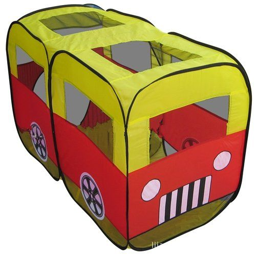 Childrens Cartoon minibus tent ** Check this awesome product by going to the link at the image.