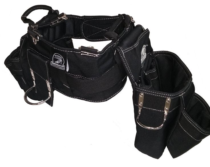 Gatorback Professional Carpenter's Tool Belt Combo w/ Air-Channel Pro Comfort Back Support Belt. (Small 26-30 Inch Waist)