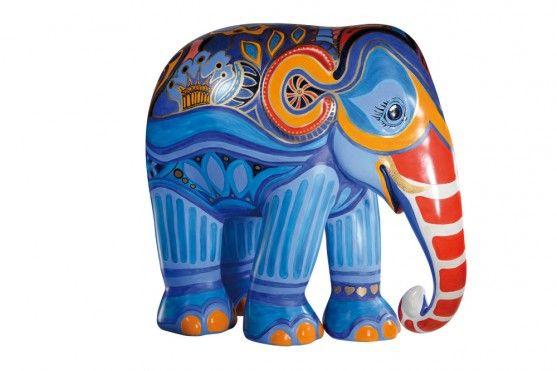 The King | The Elephant Parade