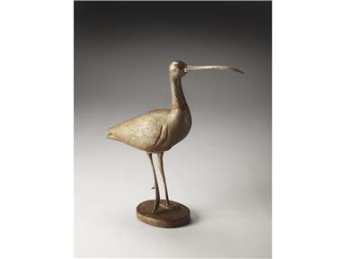Shop+for+Butler+Specialty+Company+Figurine,+3144016,+and+other+Accessories+at+Carolina+Appliance+and+Furniture+in+Conway,+SC.+Majestic+And+Stately,+This+Wood+Carved+Egret+Statue+On+Metal+Legs+Will+Bring+The+Elegance+Of+This+Water+Bird+To+Your+Home.