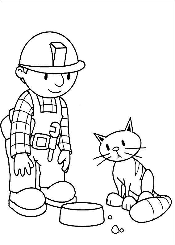 find this pin and more on bob the builder coloring pages by wandakelly0580