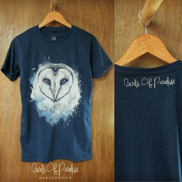 Hangerwood t shirt bird of paradise