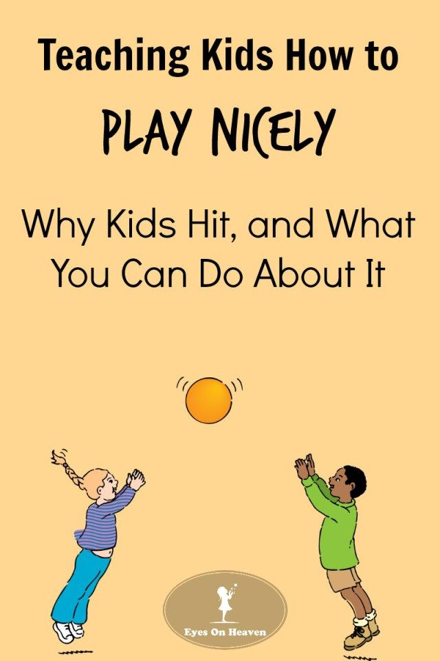 Strategies to stop kids from hitting