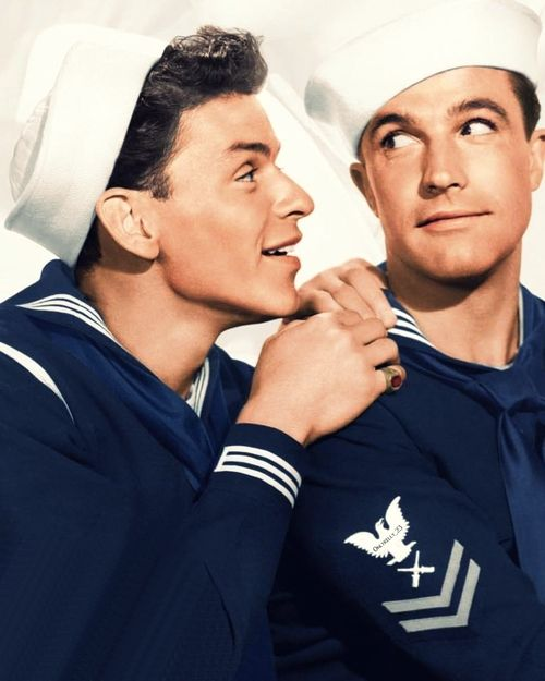 Frank Sinatra & Gene Kelly in Anchors Aweigh (1945)