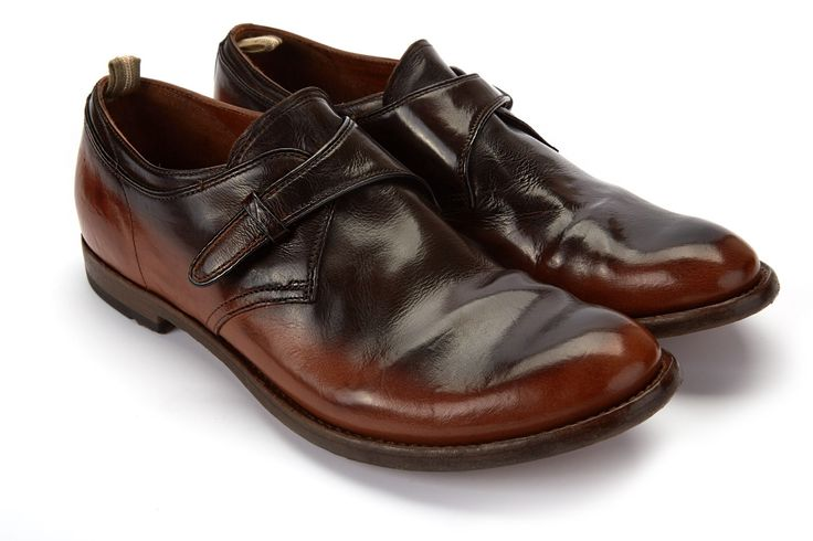 Men's Monk Shoes OFFICINE CREATIVE Anatomia 62 T.Moro