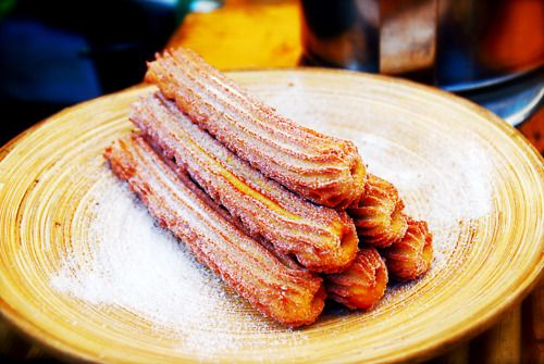 Churros. the most amazing desert i've ever had in my life
