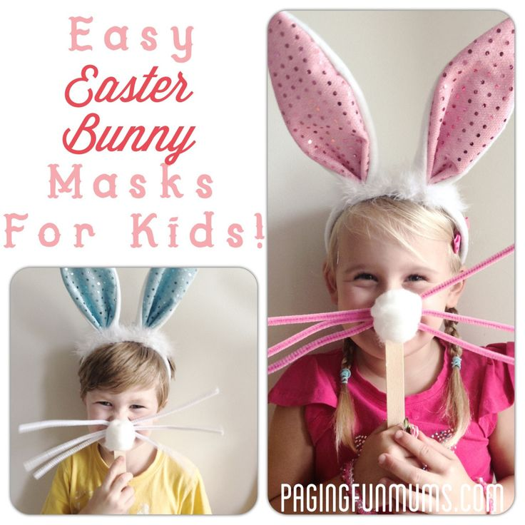Fun Easter Masks for Imaginative Play!