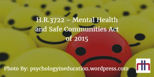 Legislation News: H.R.3722 - Mental Health and Safe Communities Act of 2015  The bill was introduced in the House by Representative Martha McSally (R-AZ) on October 8th, 2015. This bill was referred to the Subcommittee on Research and Technology on September 30th, 2016.  You can read the full post here:   What are your thoughts on this bill?  #TheFourthBranch #LegislationNews #Congress #House #Senate #HR3722 #USA #Politics #MarthaMcSally