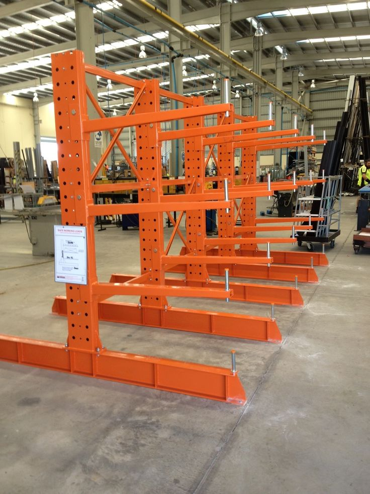 Heavy Duty Single Sided Cantilever Racking Is The Perfect
