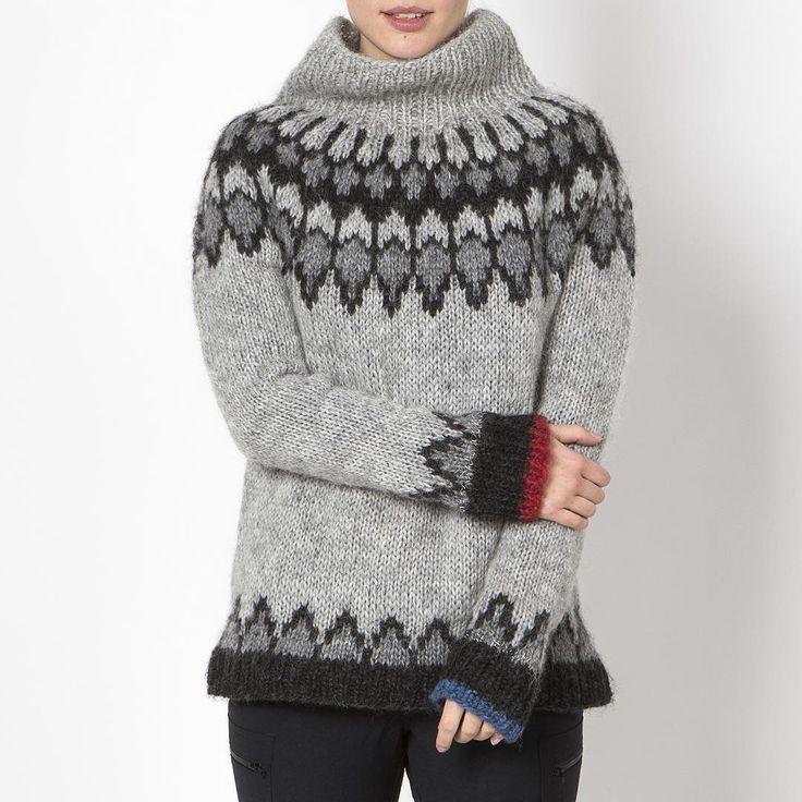 Grímsey wool sweater.