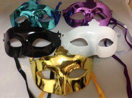 5色セット ヴェネチアン ベネチアン マスク パーティー 仮面 仮装 ハロウィン 文化祭 学園祭 コスプレ   価格1,490円 (税込 1,609 円) 送料別 お買い物の前に2,000ポイントゲット! 残りあと1個です