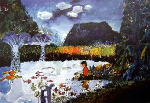 Taare Zameen Par - painting by Ishaan