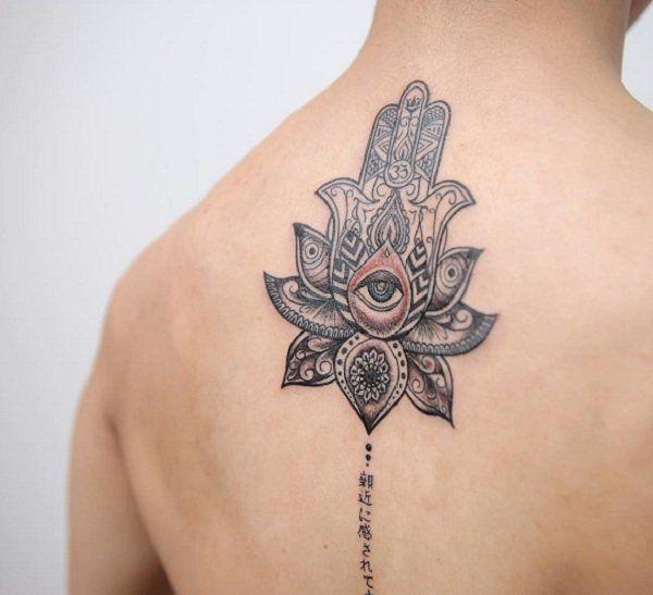 17 Best Ideas About Hamsa Tattoo On Pinterest