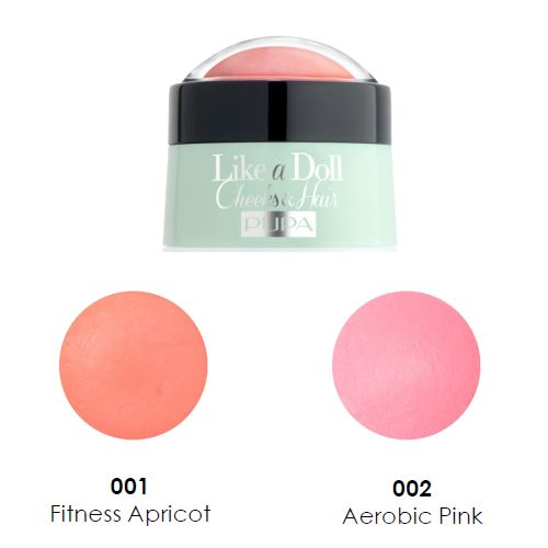 Color Me With Beauty: Un produs interesant de la PUPA Milano: SPORTY CHIC LIKE A DOLL 2in1 blush crema si vopsea de par