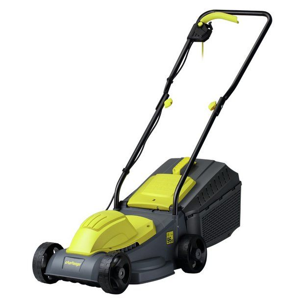Buy Challenge Corded Electric Lawnmower - 1000W at Argos.co.uk - Your Online Shop for Lawnmowers and accessories, Lawnmowers and garden power tools, Home and garden.