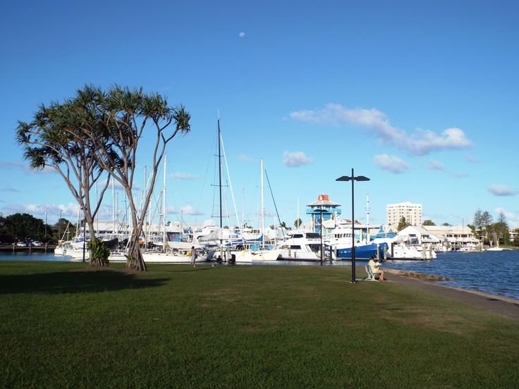 Close to the Mooloolaba marina and wharf precinct