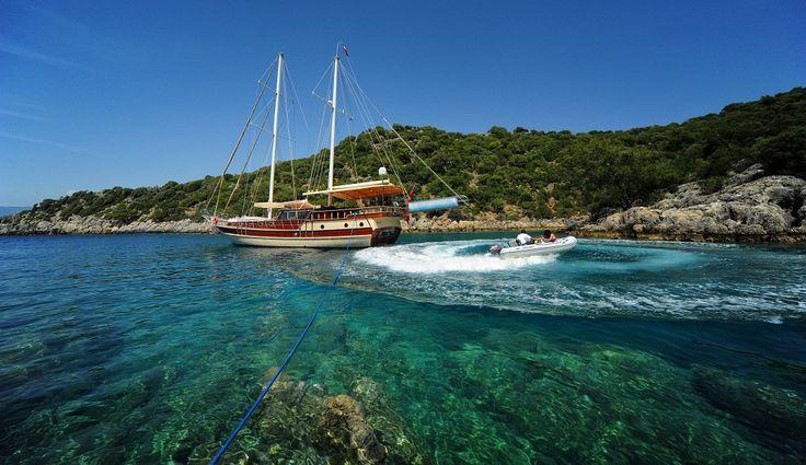 Gulet Hasay for blue cruises from Gocek or Fethiye Turkey