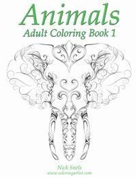 Animals Adult Coloring Book 1 8,80€