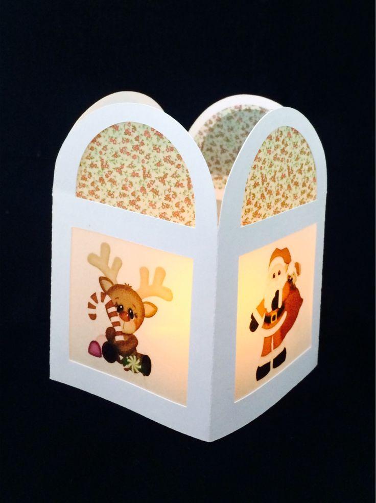 Lámpara para decorar una mesa