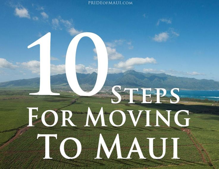 If you're thinking of moving to #Maui, or anywhere in Hawaii, this blog has some helpful information!