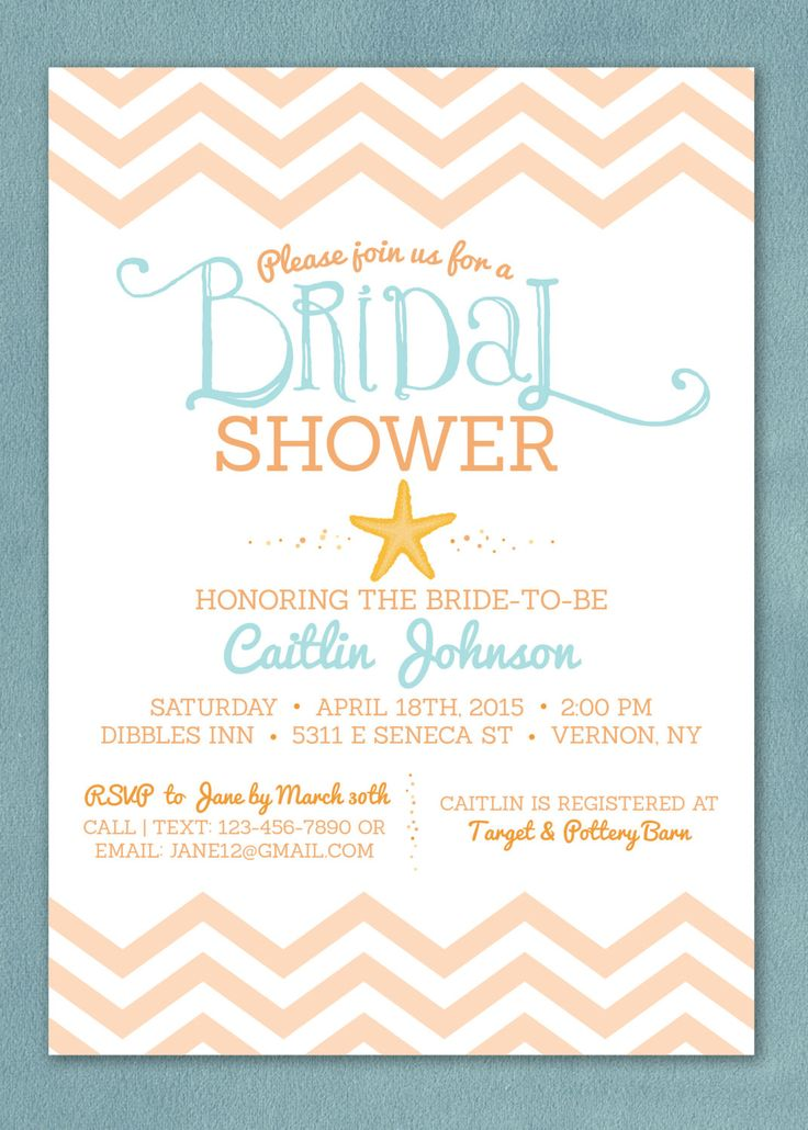 Best 25 Beach bridal showers ideas on Pinterest Beachy