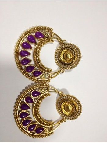 Deepika Ramleela Earrings New Design 003 http://20offers.com/jewelry We ship worldwide!
