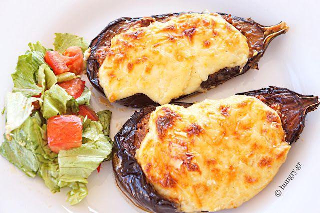 Kitchen Stories: Melitzanes Papoutsakia-Stuffed Eggplant