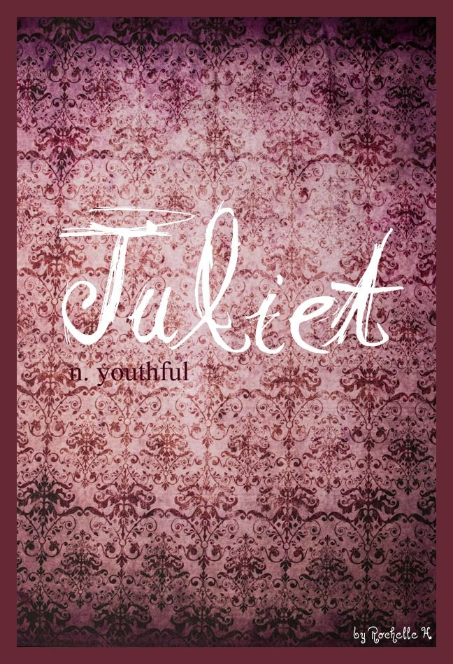 Baby Girl Name: Juliet. Meaning: Youthful. Origin: Italian; French. http://www.pinterest.com/vintagedaydream/baby-names/