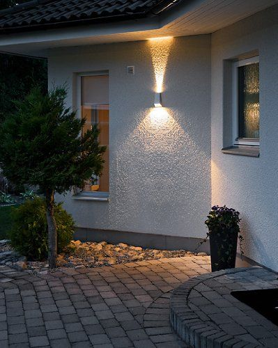 17 best images about clairage ext rieur on pinterest for Luminaire mural exterieur led