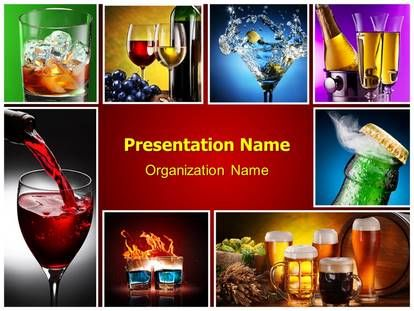 The 9 best wine powerpoint templates images on pinterest ppt download alcohols powerpoint template for your upcoming powerpoint presentation and attract toneelgroepblik Images