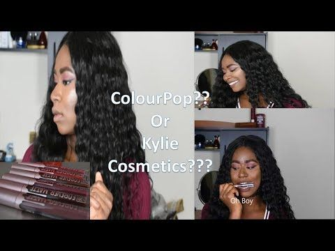 Valentine Day Lipstick Swatches    Colourpop or kylie cosmetics dupe? http://cosmetics-reviews.ru/2018/02/12/valentine-day-lipstick-swatches-colourpop-or-kylie-cosmetics-dupe/