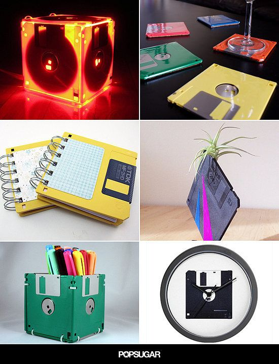 Genius Ways To Upcycle Your Floppy Disks Home Office