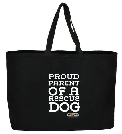 chrome hearts eyeglasses inflatable date Proud Parent of a Rescue Dog Jumbo Tote  Happy