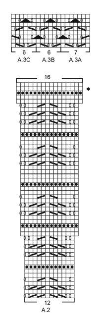 Vestito con raglan, forma ad A e motivo traforato, lavorato dall'alto in basso in Muskat. Taglie: S - XXXL. Modello gratuito di DROPS Design.