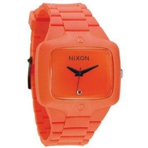 My SF Giants watch!: Orange Watches, Rubber Players, Giant Watches, Funky Watches, 150 Nixon, Players Orange, Nixon Rubber, Players Watches, Funky Orange