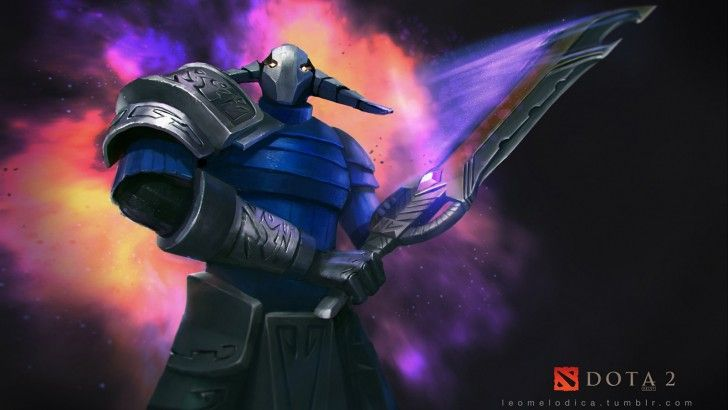 Download Sven the Rogue Knight Dota 2 Game Art by Leomelodica 1600x900