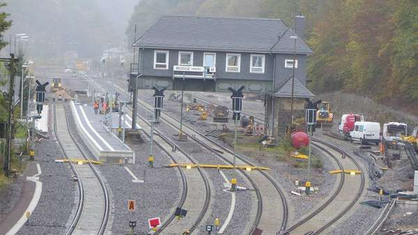 Bahnhof Brügge voraussichtlich Ende Dezember fertig