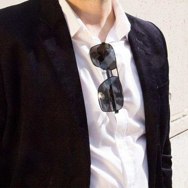 Emporio Armani EA2025 Polarized 300181 & white shirt: perfect match ...