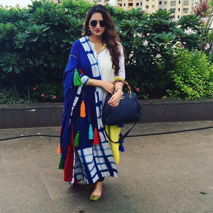 """296 Likes, 21 Comments - Sonu Bohra (@sonubohra) on Instagram: """"Summer freshness! Can't wait to wear this beautiful dupatta this season. #loveit #sonuandjasleen…"""""""